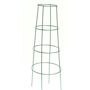 1-Pack 48 Powder-coated galvanized steel wire Triangular Tomato Cage