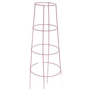 10-Pack 48 Powder-coated galvanized steel wire Triangular Tomato Cage
