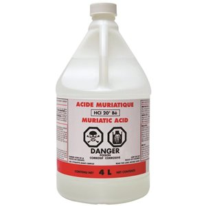 Muriatic Acid 4L