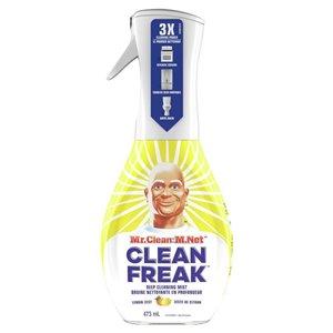 Mr. Clean Clean Freak Deep Cleaning Mist Multi-Surface Spray, Lemon Zest Scent Starter Kit, 1 , 16 -fl oz