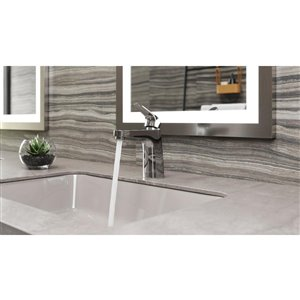 Pfister Matlock Single Control 4-in Centerset Bathroom Faucet in Polished Chrome