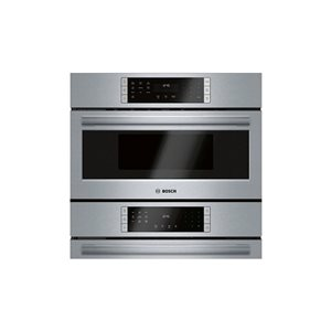 Bosch Self-Cleaning Convection Microwave Wall Oven Combo (Stainless Steel) (Common: 30 -in; Actual: 29.75-in)