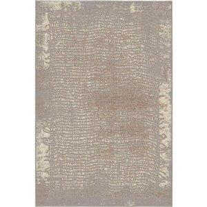 KORHANI Studio Caius Grey Area Rug 4x6 (Gallant 2.0 collection)