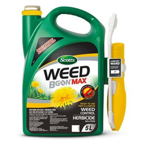 Scotts Weed B Gon Max Ready-To-Use Weed Control with Wand Applicator 5L