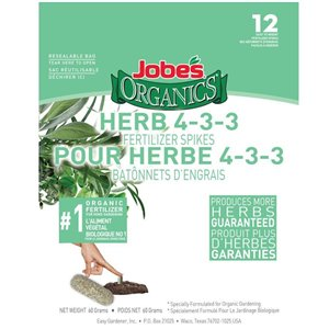 Jobe's 12-Pack Herb Plant Food Spikes (4-3-3)