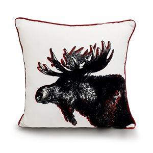 allen + roth 18X18 Toss Pillow Moose