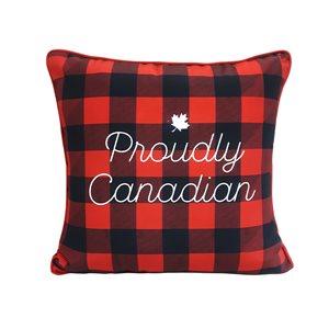 allen + roth 18X18 Toss Pillow Proudly