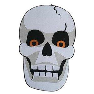 Holiday Living 33 in Felt Wall Decor Mask Skull