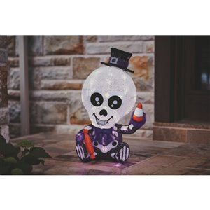 Haunted Living Tall Lighted Skeleton - 29-in
