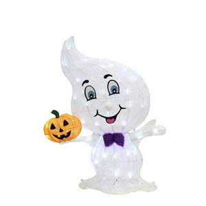 Haunted Living Tall Lighted Ghost - 33.75-in
