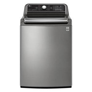 LG High-Efficiency Top-Load Washer (Graphite Steel) ENERGY STAR