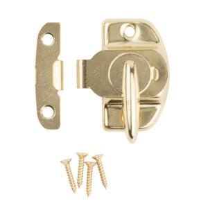 National Hardware N193-607- 602 Tight Seal Sash Locks (Brass)