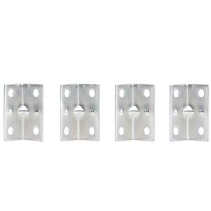 National Hardware 4-Pack 1.5-in Zinc-plated Corner Brace
