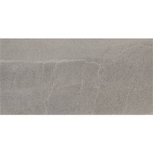 Mono Serra Group Mono Serra 8-Pack Grigio Matte Porcelain (Common: ; Actual: 24-in x 12-in)