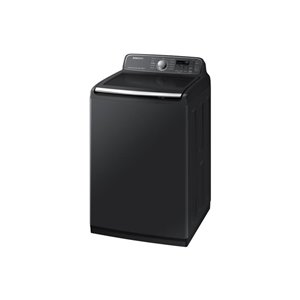 Samsung High-Efficiency Top-Load Washer (Black Stainless Steel) ENERGY STAR