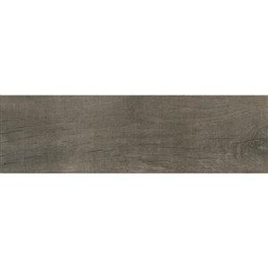 Mono Serra Group Mono Serra 17-Pack Gray Matte Porcelain (Common: ; Actual: 24-in x 7-in)