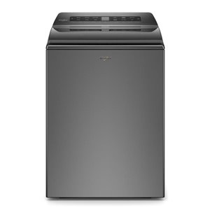 Whirlpool High-Efficiency Top-Load Washer (Chrome Shadow)