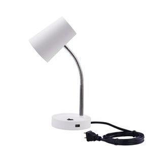 Project Source WHITE DESK LAMP
