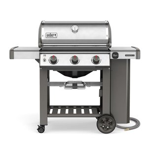 Weber Genesis II S-310 Natural Gas Grill, Stainless
