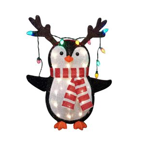 Holiday Living 28 -in LED Penguin
