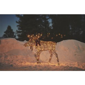 Holiday Living 45 -in LED Moose