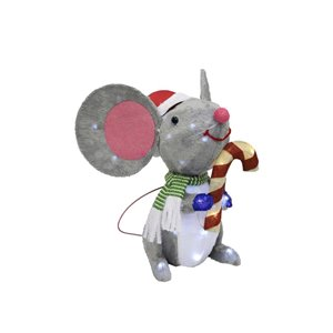 Holiday Living 22.75-in Lighted Mouse