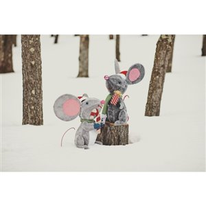 Holiday Living 22-in Tall Lighted Mouse