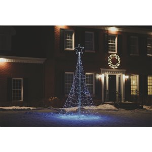 Holiday Living 9-Ft Lighted Christmas Tree