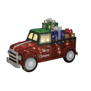 Holiday Living 33-in Long Lighted Truck