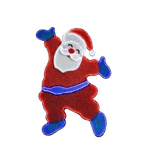Holiday Living 47.5in Height 531L SMD fabric 2D santa