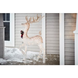 Holiday Living 53-in Tall Lighted Elk