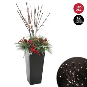 Holiday Living 50-in Potted Arrangement
