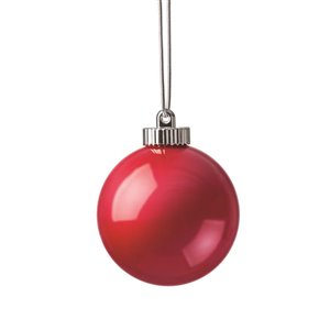 Xodus Innovations 5 -in LED Illuminated Ornament Red Globe