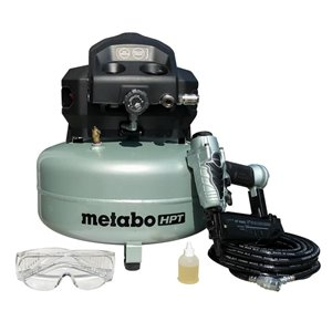 Metabo HPT (was Hitachi Power Tools) 18-Gauge Brad Nailer and Compressor Combo Kit