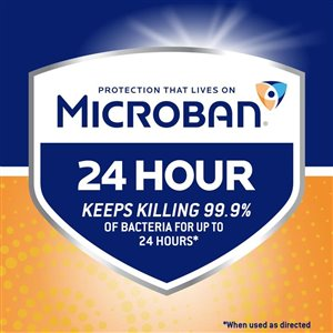 Microban Microban 24 Hour Multi-Purpose Cleaner and Disinfectant Spray, Citrus Scent, 946 ml