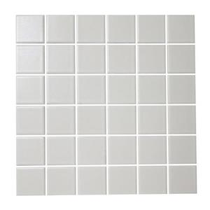 12-in x 12-in Satinglo White Glazed Porcelain Wall Tile