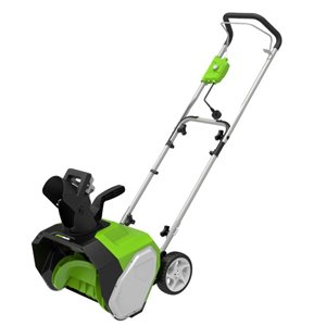 Greenworks 10-Amp 16-in Corded Electric Snow Thrower