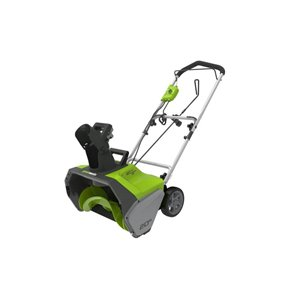 Greenworks 13 Amp 20-in Corded Electric Snow Thrower