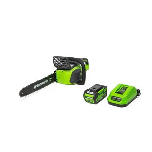 Greenworks 40-Volt 16-in Chainsaw with (1) 4Ah Battery