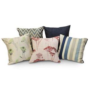 Signature Indoor Assorted Cushions 18x18