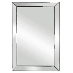 Columbia Frame 19x26-in Triangular Bevel Mirror