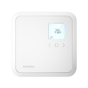 Stelpro ST Series Square Convention Electronic Non-Programmable Thermostat, 4000-Watt/240-Volt, White