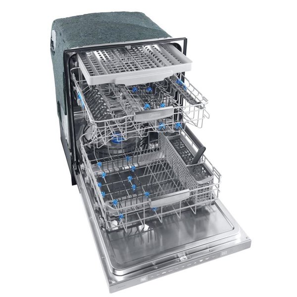 Midea 45 Decibel Built In Dishwasher Stainless Steel Common 24 In Actual 23 9 In Energy Star Lowe S Canada