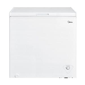 Midea 7-cu ft Chest Freezer with Temperature Alarm (White)