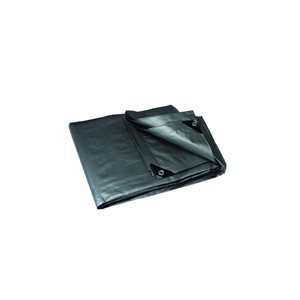 Project Source TARP 10-ftX 15-ft GREY 190gsm