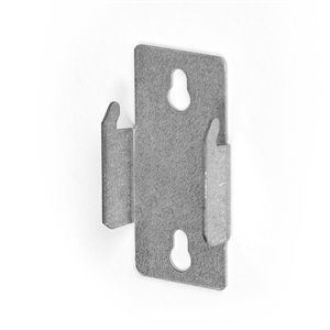 Kenney Metal Double Curtain Rod Bracket