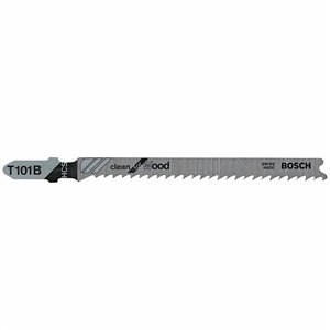 Bosch 4-in 10 TPI Variable-Pitch Clean for Wood T-Shank Jigsaw Blade (5-Pack) (T101B)