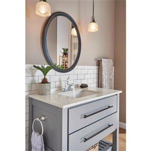 DELTA Principals Single Handle Centerset Bathroom Faucet in Chrome