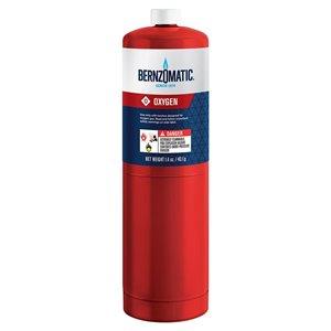 Worthington Pro Grade Bernzomatic 1.4oz Oxygen Fuel Cylinder