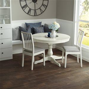 American Olean 6-in x 24-in Woodland Hills Walnut Wood Look Porcelain Floor and Wall Tile